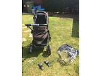 Silvercross Pioneer Pushchair + Carrycot