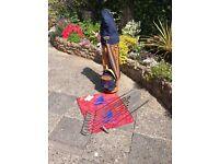 Lynx golf clubs, nice bag and trolley