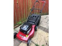 Mountfield petrol lawnmower self propelled mower