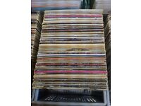 500 EASY LISTNING, CLASSICAL, BIG BAND, COUNTRY, CROONERS VINYL LPS