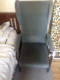 High back comfy chair