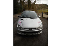 Peugeot 206 1.4 80,000 miles great condition