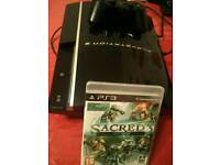 PS3 for sale (classic 40gb model)