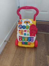 Vtech Baby Walker - as new - great condition - works perfectly