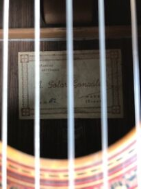 Anslemo Solar Gonzales (High end classical guitar)