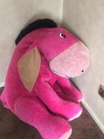 Cuddly toy big donkey teddy REDUCED !!!
