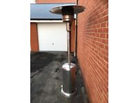 Gas stainless steel patio gas heater