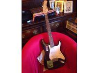 Carlsbro Stratocaster Copy - Electric Guitar, Black