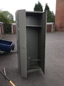 tall large metal cabinet storage locker