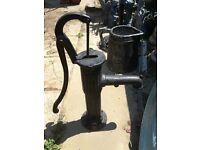 a garden pump