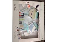 Mamas and papas scrapbook boy nursery set