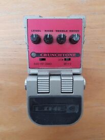 Line 6 Crunchtone - Overdrive/Distortion pedal