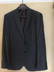 Men's Next tailored grey three piece suit