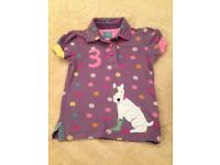 Joules Girls T-Shirt aged 6 (more like aged 5)