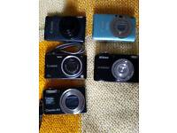 Broken cameras for spares and parts