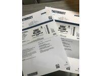 Robbie Williams 2 x tickets
