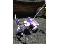 Disney Princesses trike with handle FREE