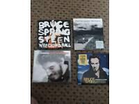 4 Bruce Springsteen cds