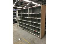 Galvanised Pigeon Hole Shelving |Large Quantity Available|