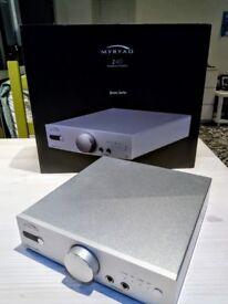 Myryad Z40 Silver - Headphone Amplifier and preamplifier