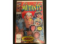 New mutants 87, first app cable- first print