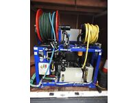 Drain Jetter Van Pack - Flowplant 300 Series Jetter c/w remote control
