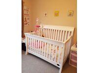 Bonavita (Fine Childrens Furnishings) 3in1 Cot Bed & Toddler Bed