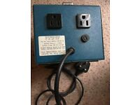 1000 Watt step down transformer 230- 115v AC