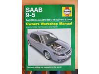 2 x Saab Haynes Manuals
