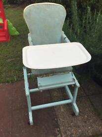 1950's high chair