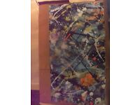 lovely 5 ft canvas picture modern art excellent condition qwick sale!!!