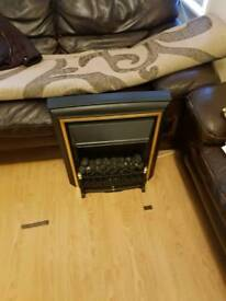 Electric fire effects heater