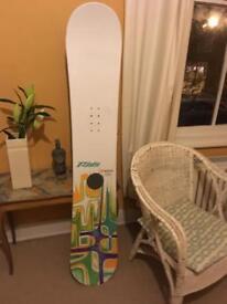 Ride 158 snowboard