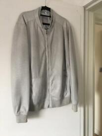 Men's Faux Leather Jacket Size XL