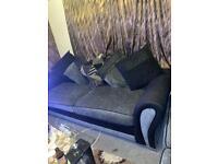 Comfy 2 & 3 seat fabric sofas