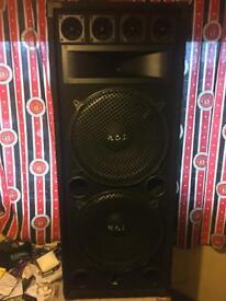 """Rcl dj speaker 15"""" 800w max"""