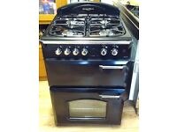 Gas cooker, like new, 60 cm wide, free delivery