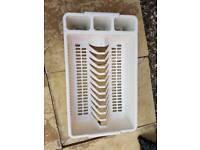 Free dish drainer
