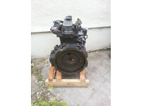 Mitsubishi S3L2 Engine - Spare/Repairs/Scrap (Cracked Head)