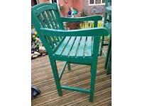 Garden chairs (tall) ((BEDFORD))