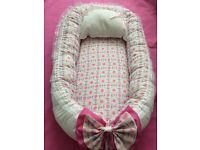 New baby nest pod with removable metress & pillow 0-12 month