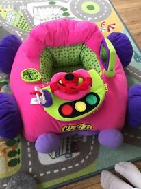 Ks kids gogogo car seat pink