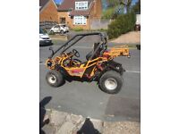 150cc 2 seater buggy