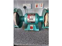 Clarke 8 inch bench grinder light use only