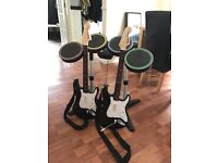 PlayStation rock band complete kit