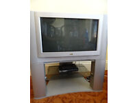 32 inch JVC Analogue Television Works with Freeview Box - open to offers