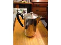 Silver Plated Antique Teapot Kettle
