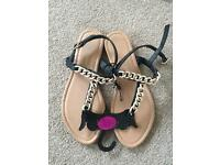 Women's sandals size 5 new