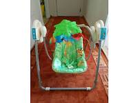 BABY SWING from newborn to 8 months