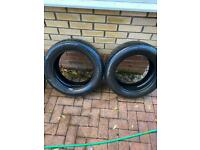 Pirelli p7 tyres 205 55 16 with approx 4.5 to 5 mil tread